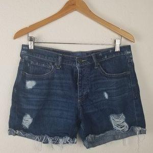 Lucky Brand Denim Shorts 6/28 Boyfriend High Rise